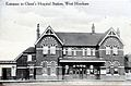 Christ's Hospital station (postcard) 02.jpg