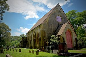 National Register of Historic Places listings in Jefferson County, Mississippi - Image: Christ Church, Church Hill, Mississippi