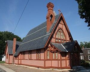Christ Church (Stevensville, Maryland) - Christ Church, seen after its restoration
