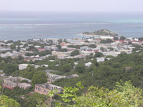 Vue de Christiansted