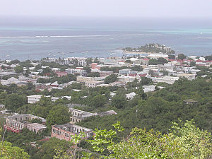 Christiansted, U.S. Virgin Islands - Image: Christansted, St. Croix, looking northeast