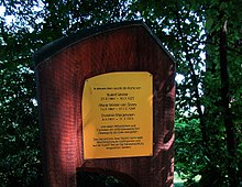 Christian Morgenstern, memorial grove, Goetheanum in Dornach, Switzerland