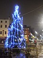 Christmas tree, Mornington Crescent NW1 - geograph.org.uk - 1632347.jpg