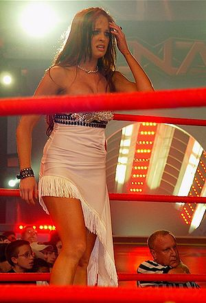 Christy Hemme - Hemme at an Impact! taping in Orlando, Florida