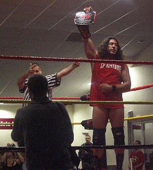 Chuck Palumbo - Palumbo with the HEW Heavyweight Championship