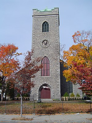 First Church of Jamaica Plain - Image: Church in Boston MA