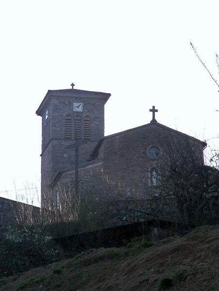 Church of Saint-Julien-Vocance.