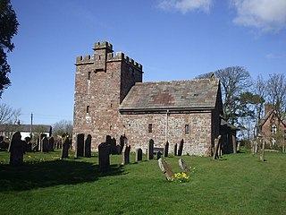 Newton Arlosh village in United Kingdom