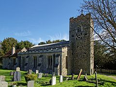 Church of St Mary the Virgin, Sheering, Essex ~ from the northwest.jpg