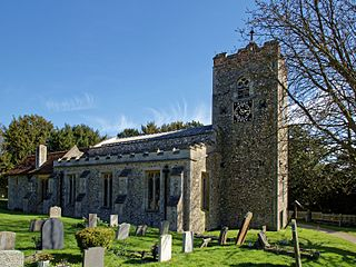 Sheering village in the United Kingdom