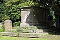Church of St Mary the Virgin, Woodnesborough, Kent - churchyard table tomb 01.jpg