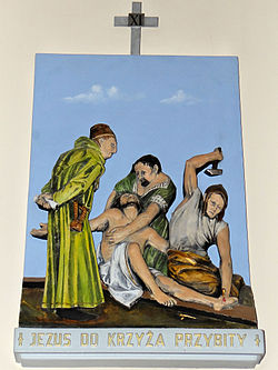 Church of the Assumption of Mary in Kock - Stations of the Cross - 11.jpg