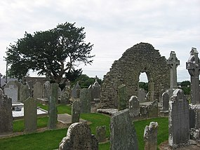 Church ruins at Tullyallen, Co. Louth - geograph.org.uk - 897242.jpg