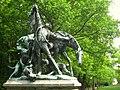 Churfürstliche Fuchsjagd - Wilhelm Haverkamp, 1904 - Berlin-Tiergarten - IMG 8370.JPG