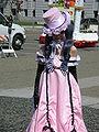 Ciel Phantomhive in pink dress cosplayer at 2010 NCCBF 2010-04-18 1.JPG