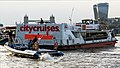 City Cruises 'Millennium of London' and rigid-hulled inflatable, River Thames 02.jpg