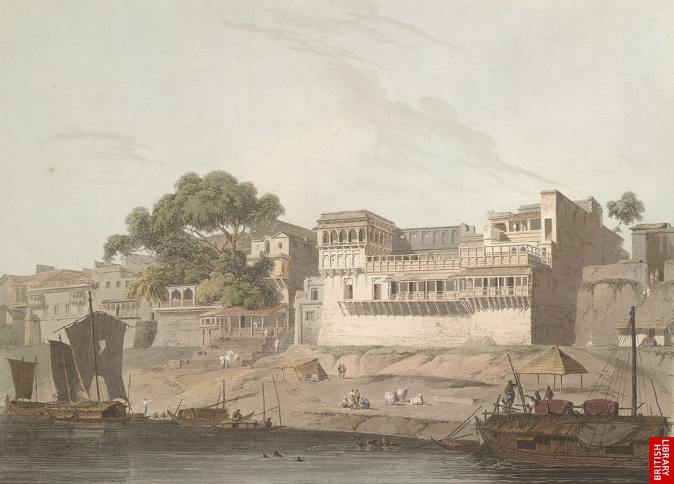 City of Patna, on the River Ganges, 19th century