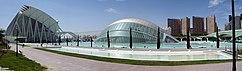 Panorámica diurna de la Ciudad de las Artes y de las Ciencias, en Valencia (España)(1991-2000)