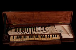 meaning of clavichord
