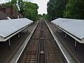 Claygate station high southbound.JPG