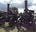 Clayton & Shuttleworth traction engine 'Elizabeth'; Fowler traction engine 'Supremacy' (15287216969).jpg