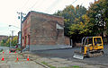 Cleared and paved area on Broadway N of Livingston Ave, Albany, NY, 2012.jpg