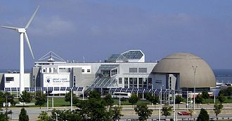 Great Lakes Science Center - The Great Lakes Science Center is located at North Coast Harbor in Downtown Cleveland.