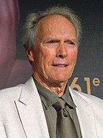 Photograph of Clint Eastwood at the 2008 Cannes Film Festival.