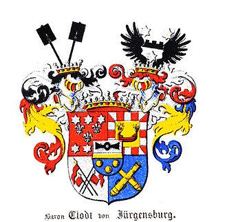 Peter Clodt von Jürgensburg - Klingspor
