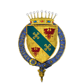 Coat of Arms of Álvaro Vaz de Almada, 1st Count of Avranches, KG.png