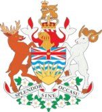 Description de l'image Coat of Arms of British Columbia.png.