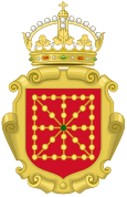 Coat of Arms of Navarre (c.1580-1700).svg