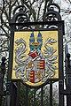 Coat of arms, Oldlands Hall gateway - geograph.org.uk - 1751547.jpg