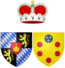 Coat of arms of Anna Maria Lusia de' Medici as Electress Palatine.png