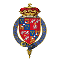 Coat of arms of Charles FitzRoy, 2nd Duke of Grafton, KG, PC, FRS.png