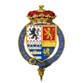 Coat of arms of Evelyn Pierrepont, 1st Duke of Kingston-upon-Hull, KG, PC.png