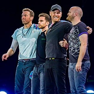 Coldplay British rock band