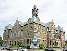 Coles County, IL, USA courthouse.JPG