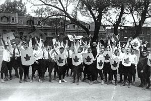 Collège Sainte-Marie de Montréal - Primary students at Collège Ste-Marie in 1919