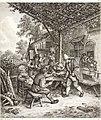 Collection de cent-vingt estampes, gravée d'après les tableaux and dessins qui composoient le cabinet de m. Poullain précédée d'un abrégé historique de la vie des auteurs qui la composent Cette suite (14592341397).jpg