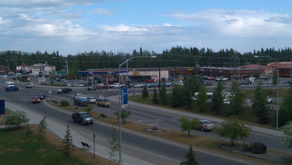 The population density of College in Alaska is 260.74 people per square kilometer (675.21 / sq mi)