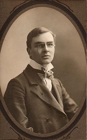 Collin Brooks - Brooks as a young man, in 1911