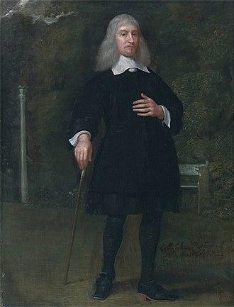 Alexander Popham - Colonel Alexander Popham, of Littlecote, Wiltshire, portrait circa 1660-5 by Abraham Staphorst