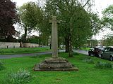 Commemorative village cross