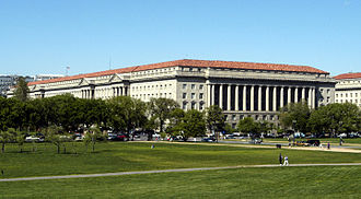United States Department of Commerce - Image: Commerce Building view from Mall 2