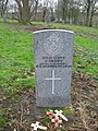 Commonwealth War Grave in Jarrow Cemetery (WW1-18) - geograph.org.uk - 1603863.jpg