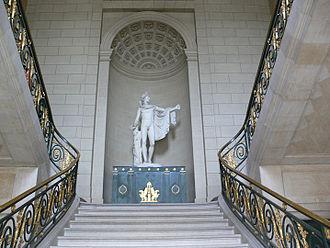 Château de Compiègne - Main staircase at the Château de Compiègne
