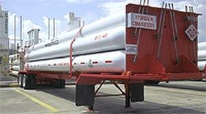 Compressed hydrogen tube trailer - Compressed hydrogen tube trailer