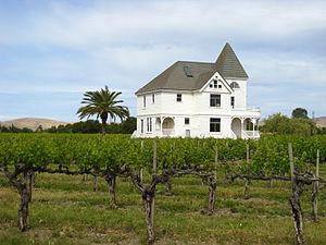 Concannon Vineyard - Victorian house on Concannon Vineyards estate