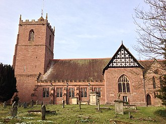 Condover - Image: Condover Church